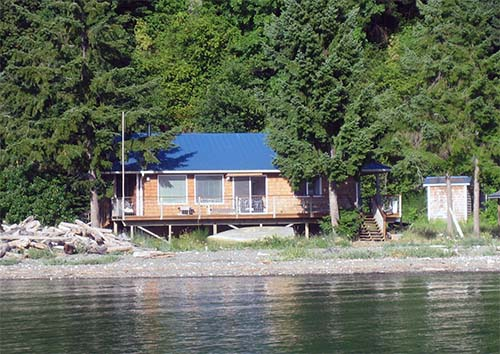 Tytler Cabin on Dabob Bay